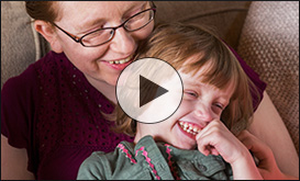 Video Still from Woelfel Family at RMHC